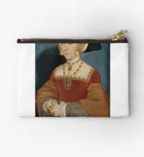 Hans Holbein the Younger - Jane Seymour, Queen of England  Studio Pouch