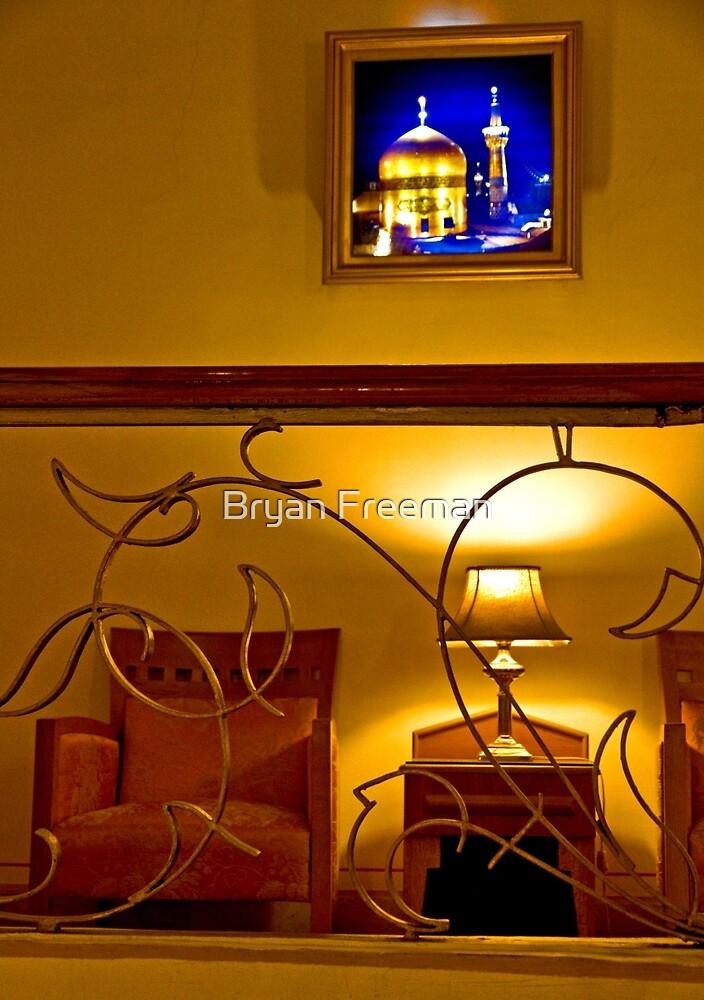 The Amazing Abbasi Hotel - Esfahan - Iran by Bryan Freeman