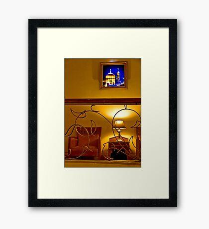 The Amazing Abbasi Hotel - Esfahan - Iran Framed Print