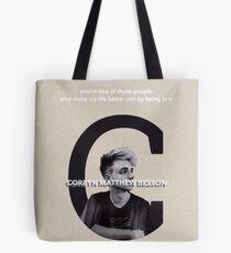 Corbyn Matthew Besson Tote Bag