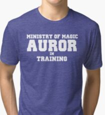 Auror in Training Tri-blend T-Shirt