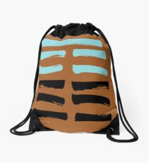23 Deterioration I Ching Hexagram Drawstring Bag
