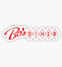Bo's Diner (Flat Variant) - Baby Driver Sticker