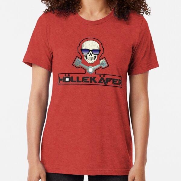 Hölle Käfer 3 Tri-blend T-Shirt