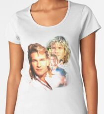Patrick Swayze Mural Women's Premium T-Shirt