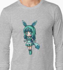 Glaceon Magical Girl Chibi Long Sleeve T-Shirt
