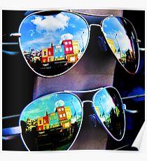 Goggles - Camden Markets - London - England Poster