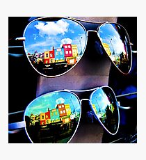 Goggles - Camden Markets - London - England Photographic Print