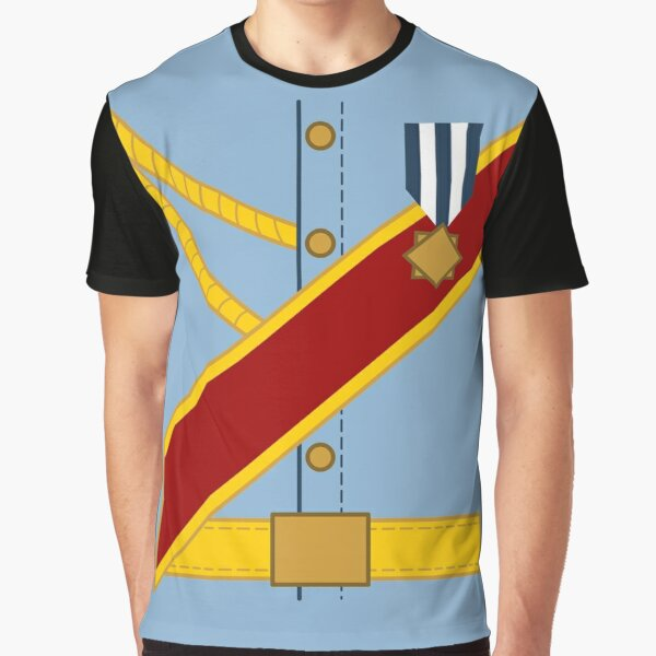 Mr. Prince Charming Costume Graphic T-Shirt