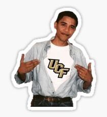 University of Central Florida Obama  Sticker