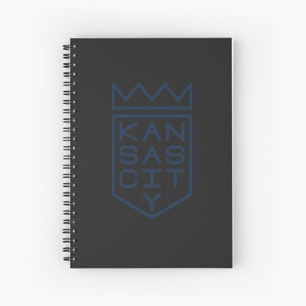 Shield and Crown (blue Spiral Notebook