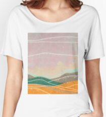 Dreamy Hills I Women's Relaxed Fit T-Shirt