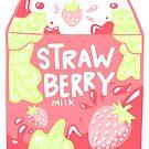 Süße Erdbeermilch von arareart