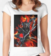 Knight Monster  Women's Fitted Scoop T-Shirt