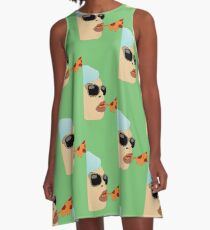 H is the Bomb A-Line Dress