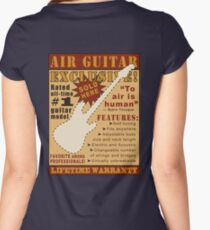 Air Guitar! Women's Fitted Scoop T-Shirt
