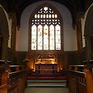ST MICHAEL AND ALL ANGELS CHURCH . by Lilian Marshall