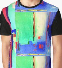 Aqua Island Graphic T-Shirt