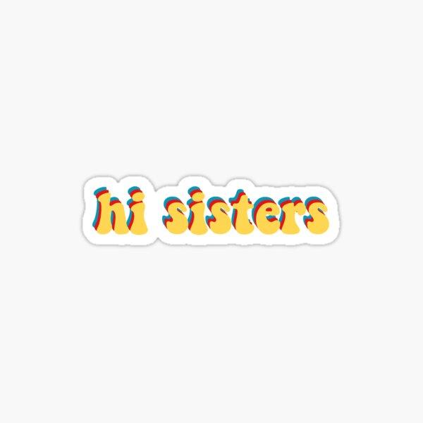 james charles hi sisters Sticker