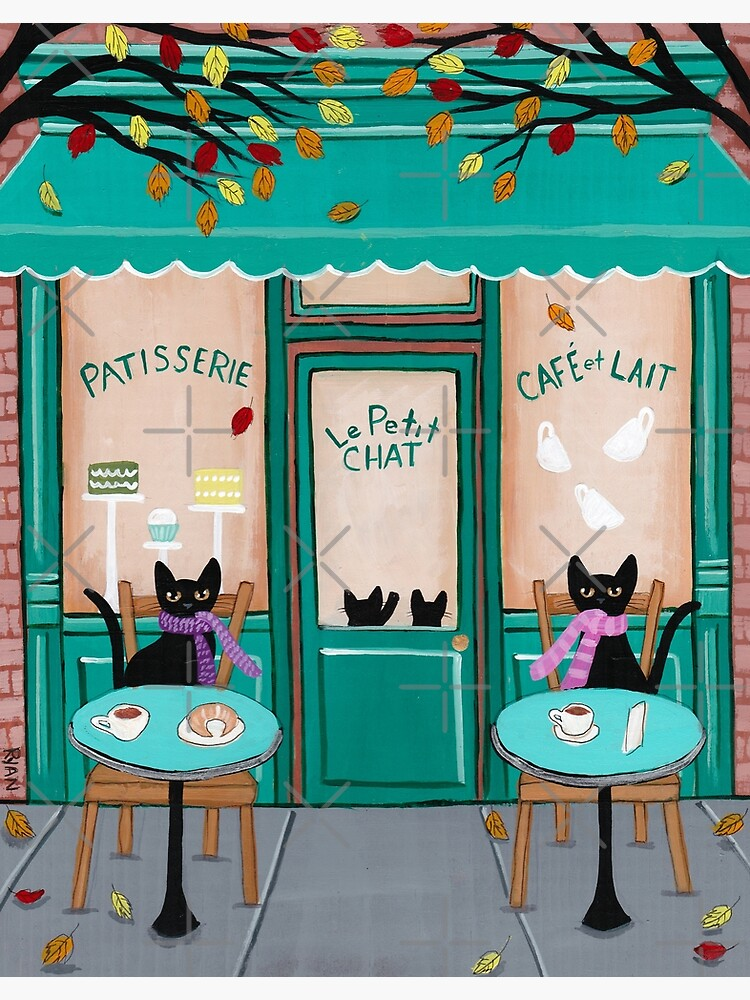 Le Petit Chat Cafe by kilkennycat
