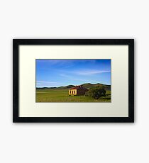 Farmhouse at Burra South Australia Framed Print