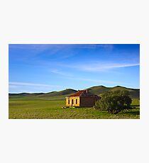 Farmhouse at Burra South Australia Photographic Print