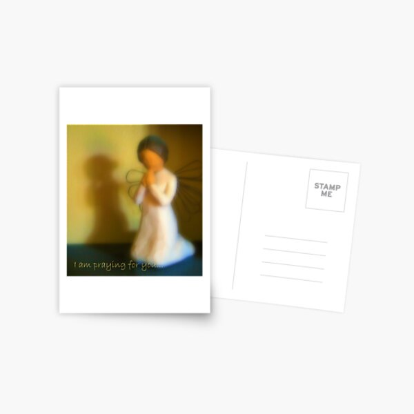 I am praying for you... Postcard