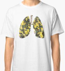 Herbal Grindelia Lungs - Herbal Anatomy Classic T-Shirt
