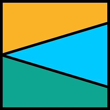 Bright Geometric Pattern by PlanetLucky
