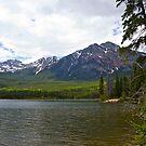 Mountains in Jasper, Alberta  by Jessica Chirino Karran