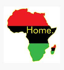 Africa is Home. Garvey Photographic Print
