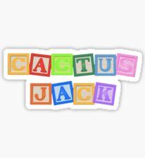 Astroworld Kaktus Jack Logo Sticker