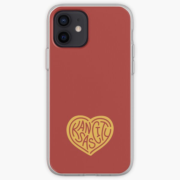 Love KC (red x yellow) iPhone Soft Case