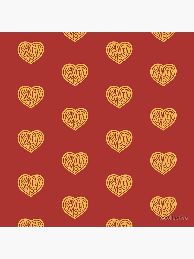 Love KC (red x yellow) by kccollective