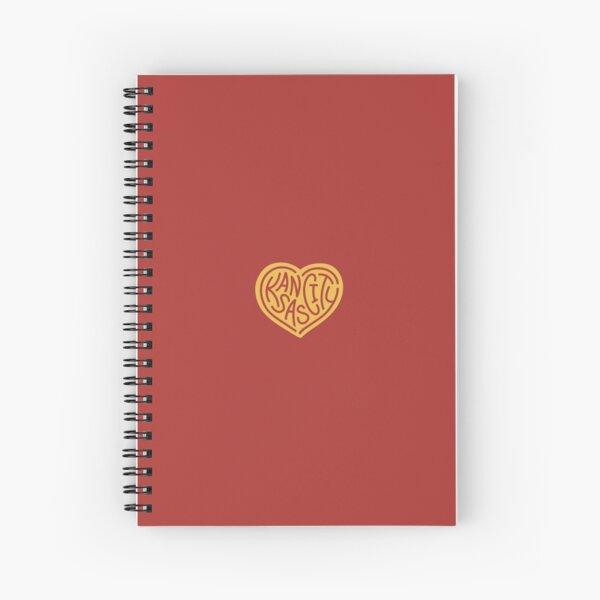 Love KC (red x yellow) Spiral Notebook