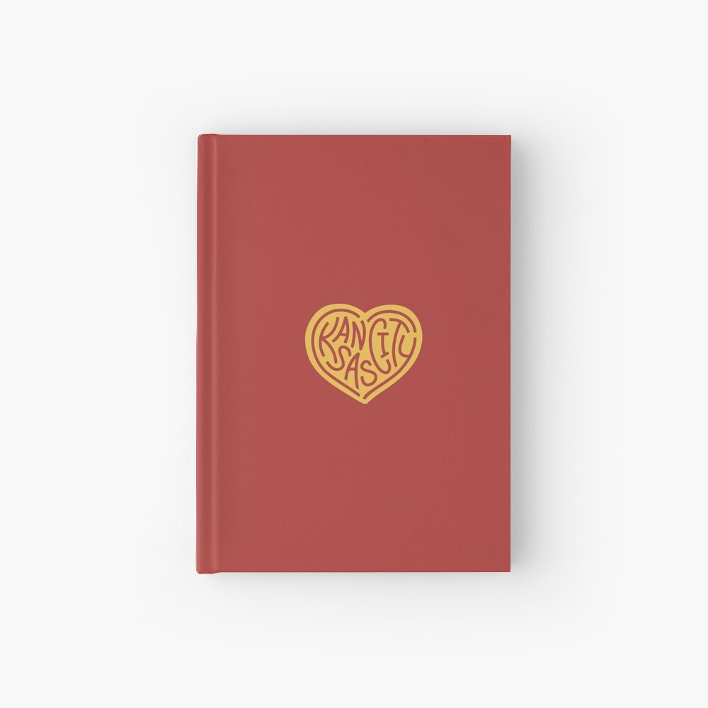 Love KC (red x yellow) Hardcover Journal