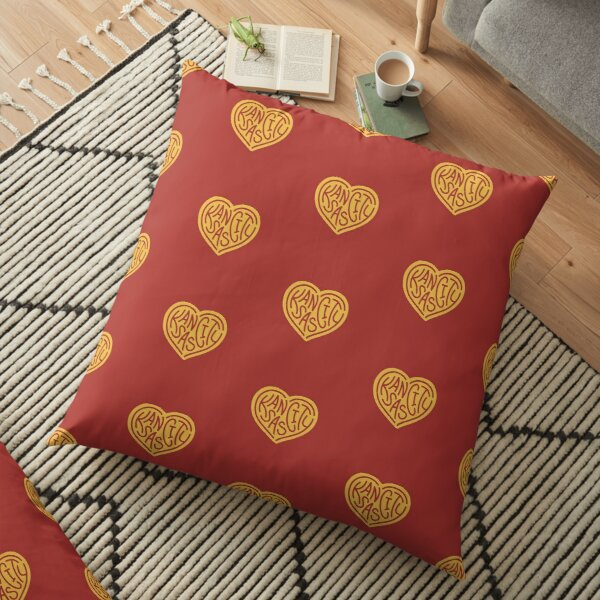 Love KC (red x yellow) Floor Pillow