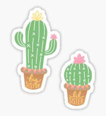 Big and Lil Cacti Sticker