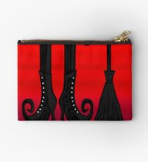 Halloween black witch Studio Pouch
