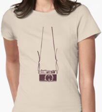 Photo camera Women's Fitted T-Shirt