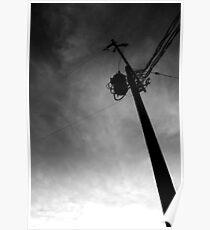 Telephone Pole Poster