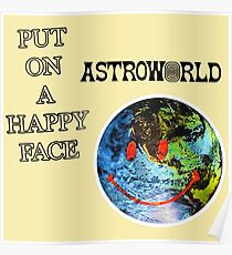 ASTROWORLD Logo Poster