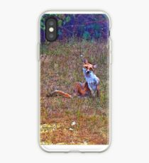 red little foxy iPhone Case