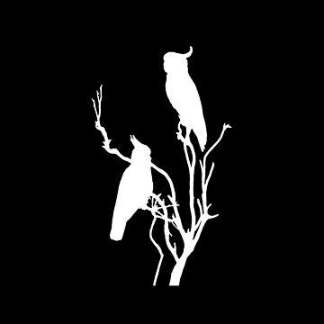 Wild Cockatoos (reversed) by Munnaminx