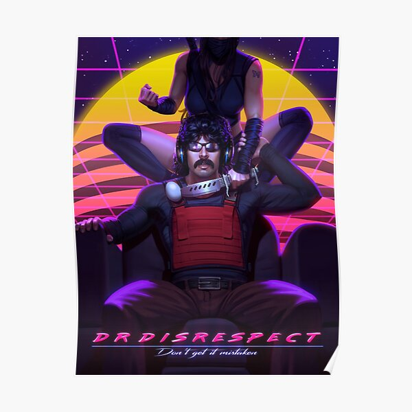 Dr Disrespect and Mrs Assassin Poster