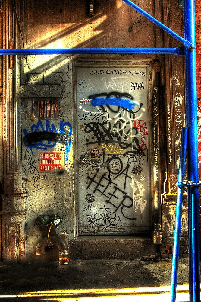 NEW YORK CITY DOOR by Diane Peresie