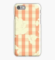 Summer Orchard - Gingham iPhone Case/Skin