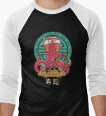 Octo Sushi Bar Baseballshirt für Männer