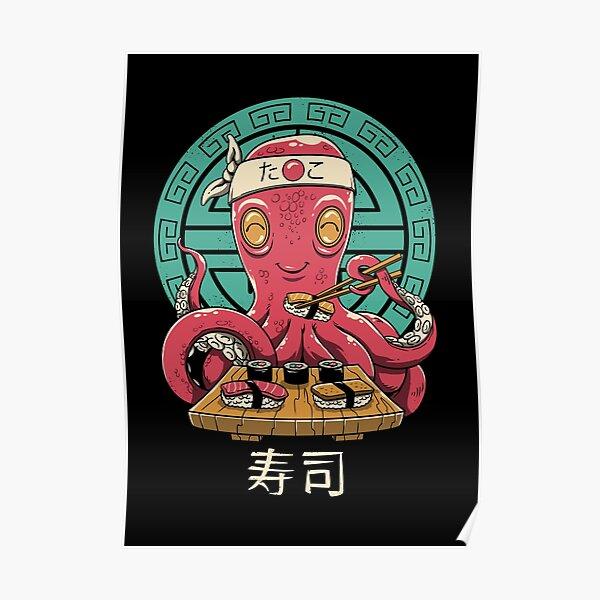 Octo Sushi Bar Poster