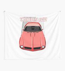 Firebird Trans am 73 - Red Wall Tapestry